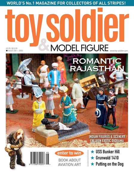 Toy Soldier & Model Figure Cover - 5/1/2020