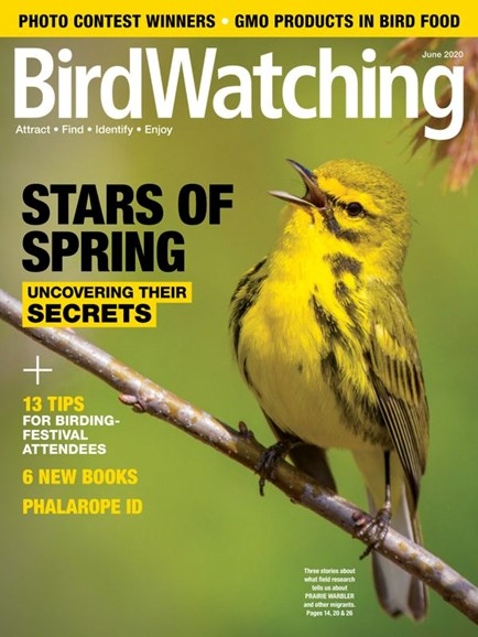 Bird Watching Cover - 6/1/2020