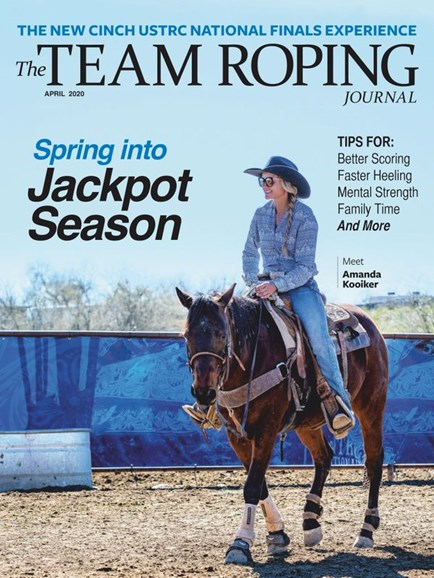 The Team Roping Journal Cover - 4/1/2020
