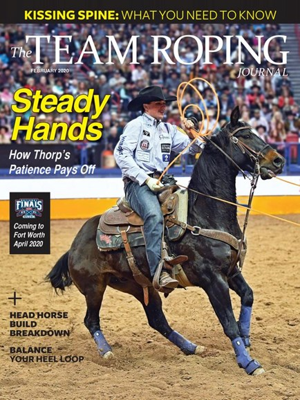 The Team Roping Journal Cover - 2/1/2020