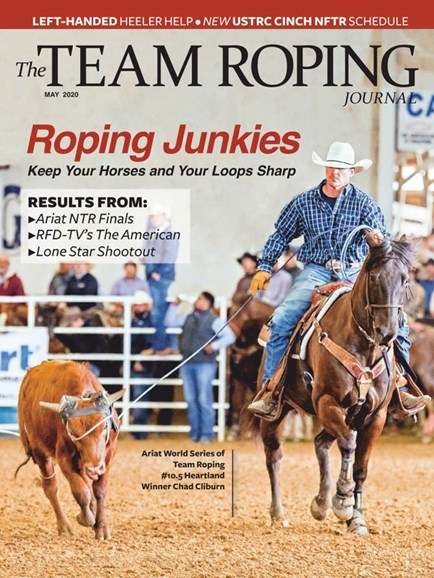 The Team Roping Journal Cover - 5/1/2020