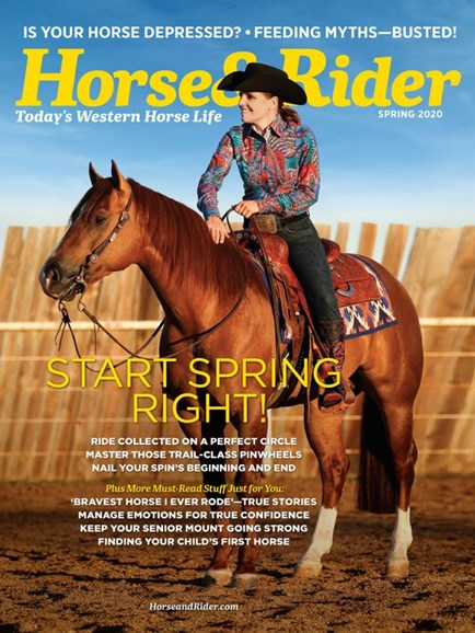 Horse & Rider Cover - 3/1/2020