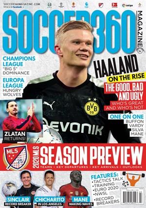 Soccer 360 Magazine | 3/2020 Cover