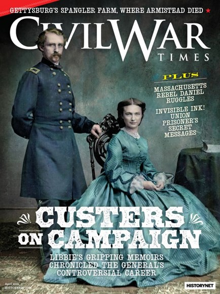Civil War Times Cover - 4/1/2020