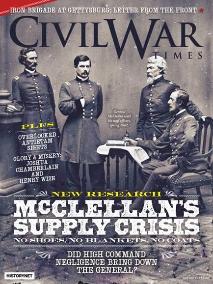 Civil War Times Cover - 6/1/2020
