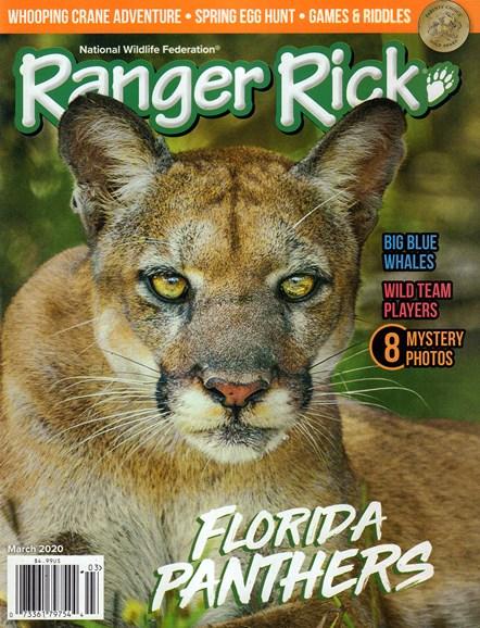 Ranger Rick Cover - 3/1/2020