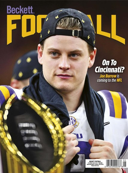 Beckett Football Cover - 5/1/2020
