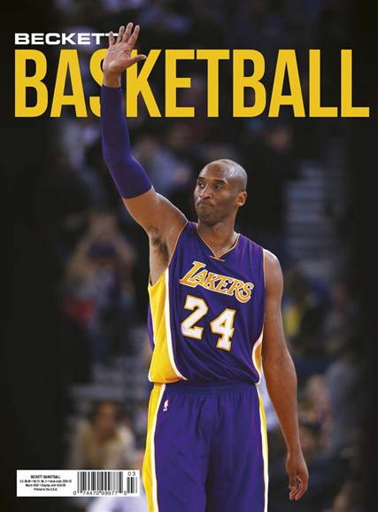 Beckett Basketball Cover - 3/1/2020