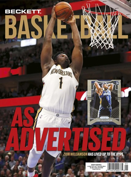 Beckett Basketball Cover - 5/1/2020