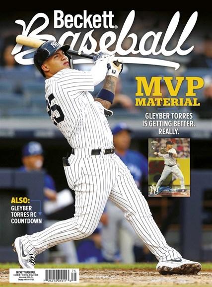 Beckett Baseball Cover - 4/1/2020