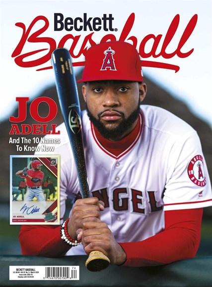 Beckett Baseball Cover - 3/1/2020