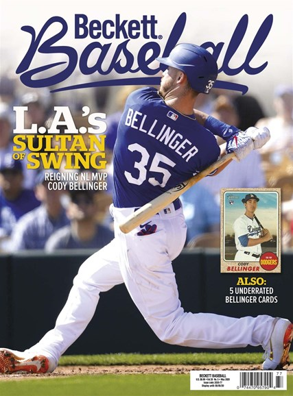 Beckett Baseball Cover - 5/1/2020