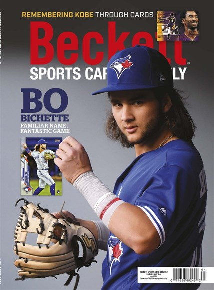Beckett Sports Card Monthly Cover - 4/1/2020