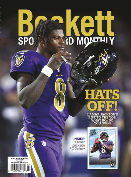 Beckett Sports Card Monthly Cover - 2/1/2020