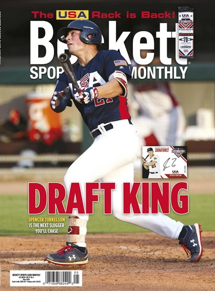 Beckett Sports Card Monthly Cover - 5/1/2020