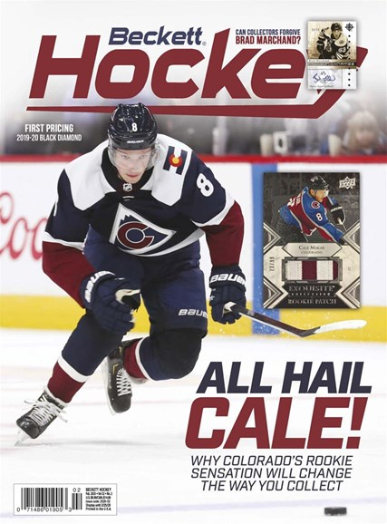 Beckett Hockey Cover - 2/1/2020