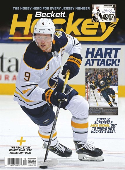 Beckett Hockey Cover - 3/1/2020