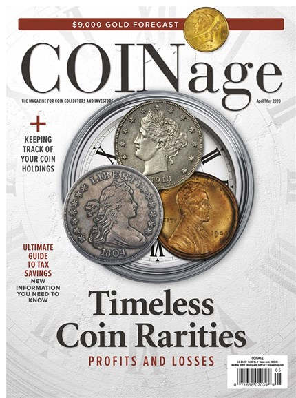 Coinage Cover - 4/1/2020
