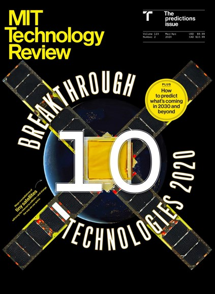 MIT Technology Review Cover - 3/1/2020