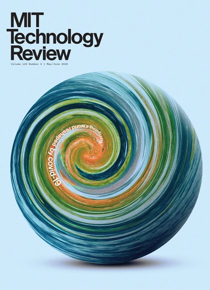 MIT Technology Review Cover - 5/1/2020