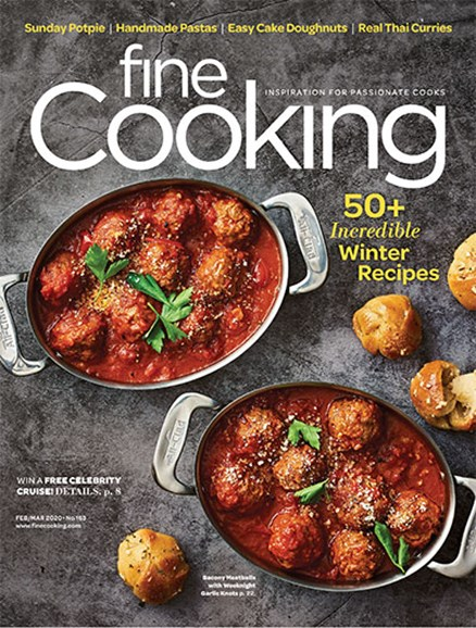 Fine Cooking Cover - 2/1/2020