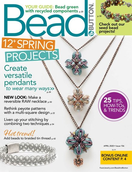Bead & Button Cover - 4/1/2020