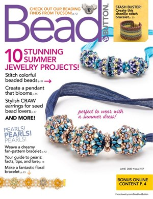 Bead & Button Magazine | 6/2020 Cover