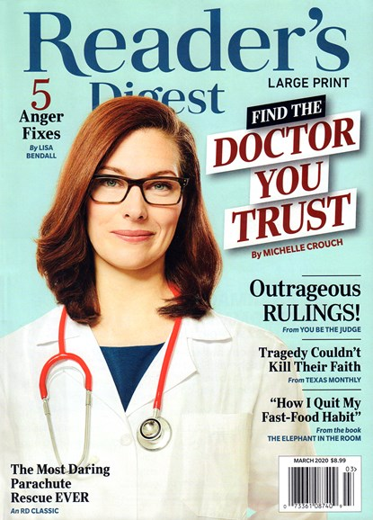 Reader's Digest - Large Print Edition Cover - 3/1/2020