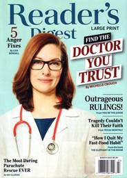 Reader's Digest - Large Print Edition