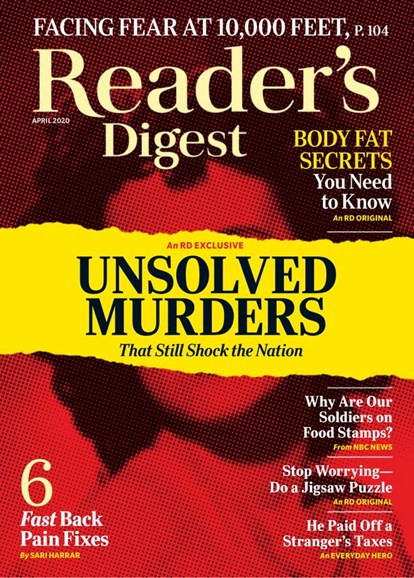 Reader's Digest Cover - 4/1/2020