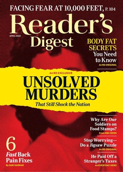 Reader's Digest Cover - 4/1/2020