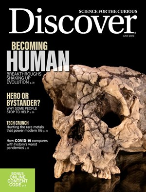 Discover Magazine | 6/2020 Cover