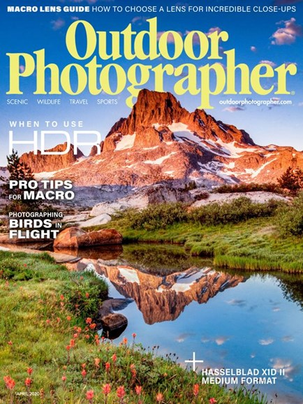 Outdoor Photographer Cover - 4/1/2020