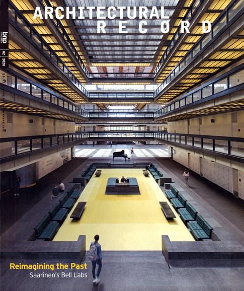 Architectural Record Cover - 2/1/2020