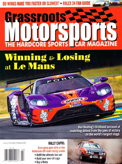 Grassroots Motorsports Cover - 2/1/2020