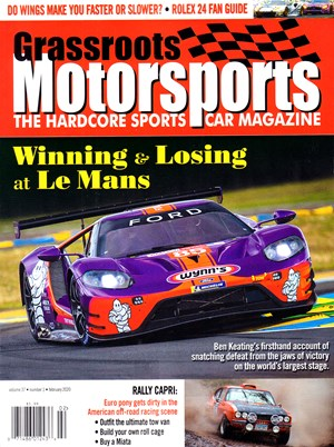 Grassroots Motorsports Magazine | 2/2020 Cover