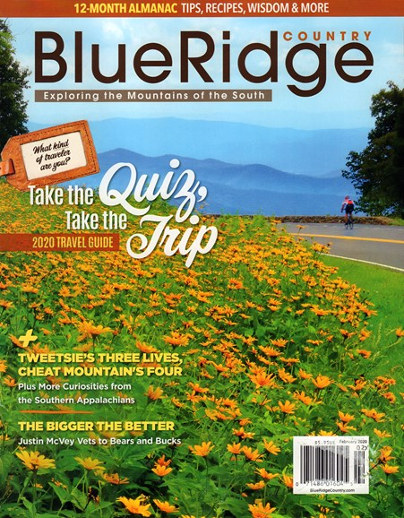 Blue Ridge Country Cover - 2/1/2020