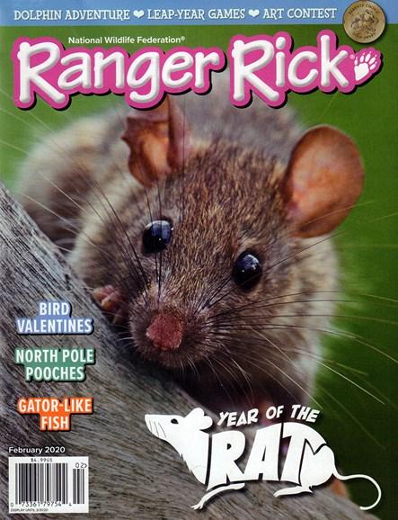 Ranger Rick Cover - 2/1/2020