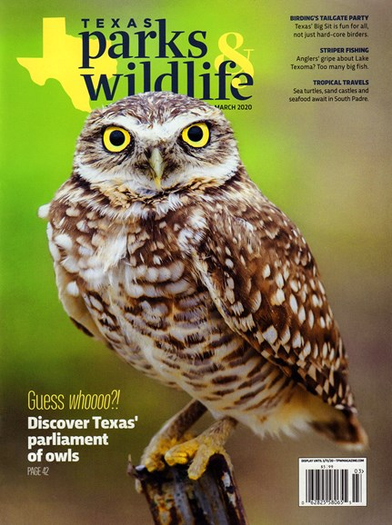 Texas Parks & Wildlife Cover - 3/1/2020