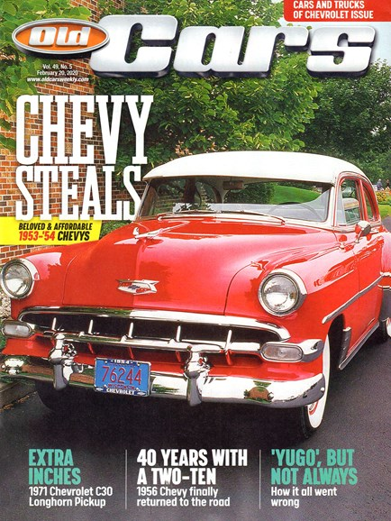 Old Cars Cover - 2/20/2020