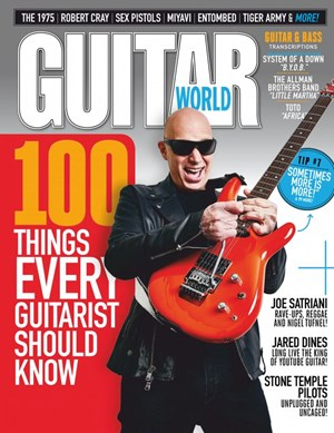 Guitar World (non-disc) Magazine | 6/2020 Cover