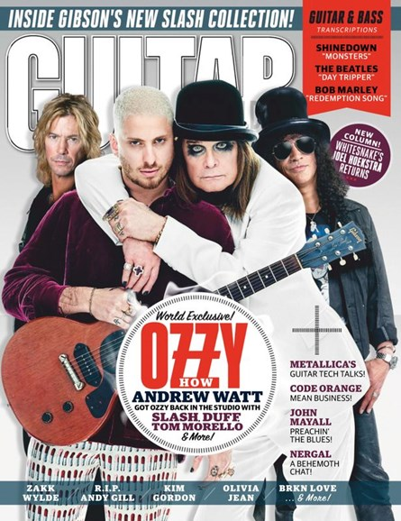 Guitar World Cover - 5/1/2020