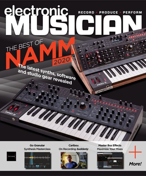 Electronic Musician Cover - 4/1/2020