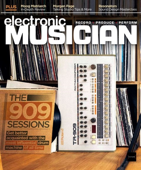 Electronic Musician Cover - 6/1/2020