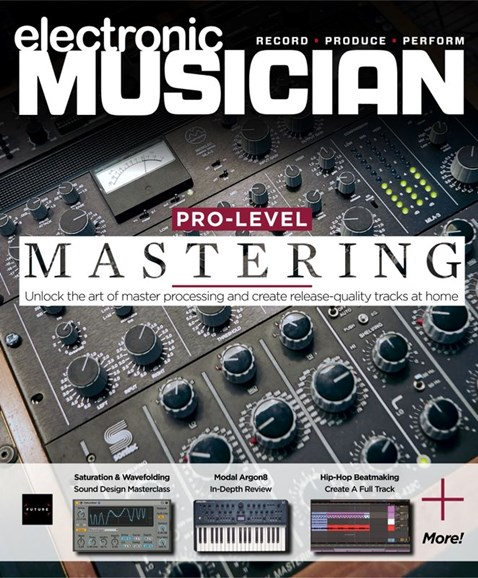 Electronic Musician Cover - 5/1/2020