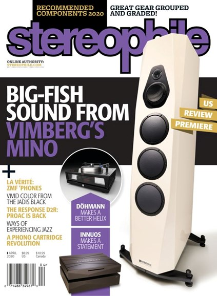 Stereophile Cover - 4/1/2020