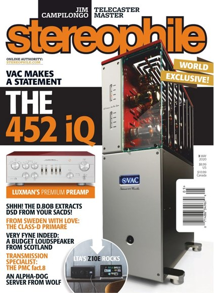 Stereophile Cover - 5/1/2020
