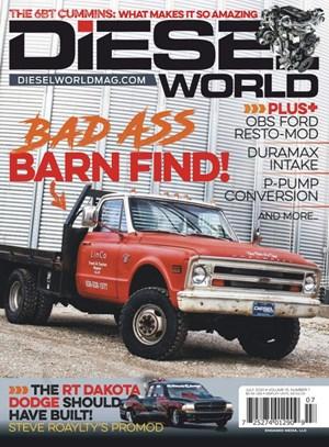 Diesel World Magazine | 7/2020 Cover