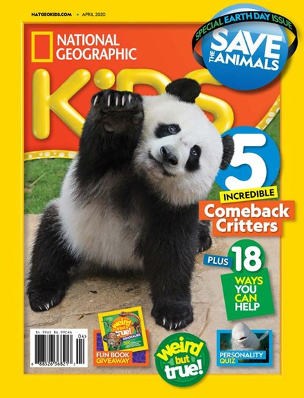 National Geographic Kids Cover - 4/1/2020