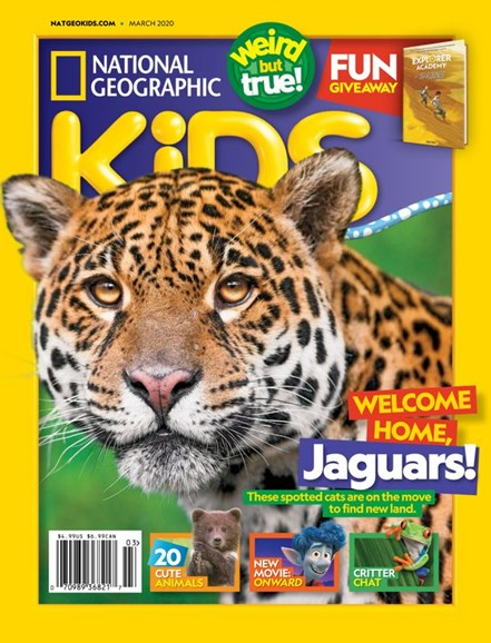 National Geographic Kids Cover - 3/1/2020